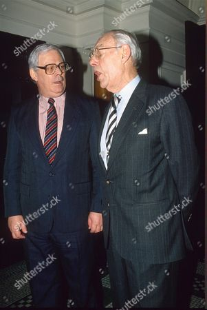 DENIS THATCHER AND TERRY MAJOR - BALL