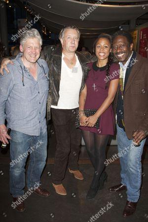 Charles Daish, Jasper Britton, Nina Toussaint-White and Clarke Peters