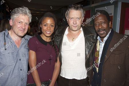 Stock Picture of Charles Daish, Nina Toussaint-White, Jasper Britton and Clarke Peters