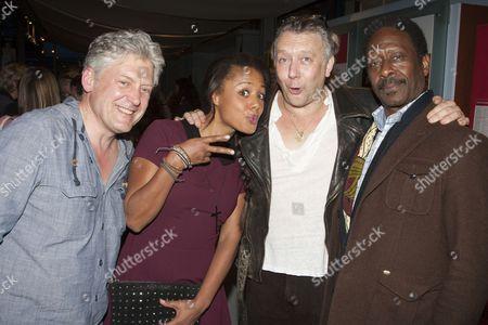Charles Daish, Nina Toussaint-White, Jasper Britton and Clarke Peters