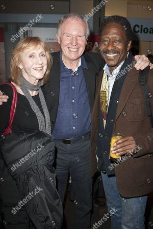 Pamela Miles, Tim Pigott-Smith and Clarke Peters