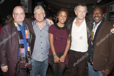 Stock Photo of Terry Johnson, Charles Daish, Nina Toussaint-White, Jasper Britton and Clarke Peters