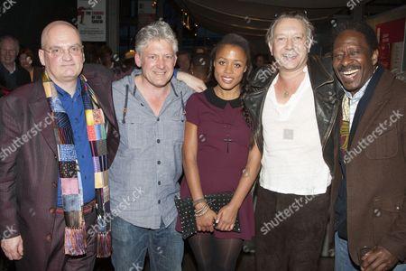 Stock Image of Terry Johnson, Charles Daish, Nina Toussaint-White, Jasper Britton and Clarke Peters