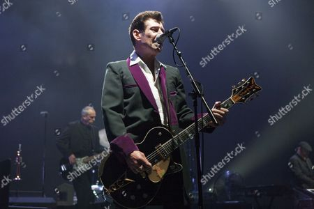 Stock Image of Roddy Radiation from The Specials performs at the O2 Brixton Academy, London 29/05/13