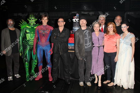 Editorial picture of 'Spider-Man: Turn Off The Dark' play celebrates 1,000th performance, New York, America - 29 May 2013