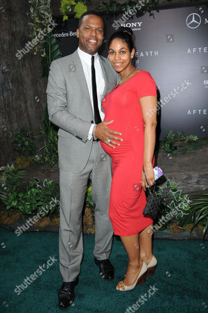 Stock Picture of AJ Calloway and Dionne Walker