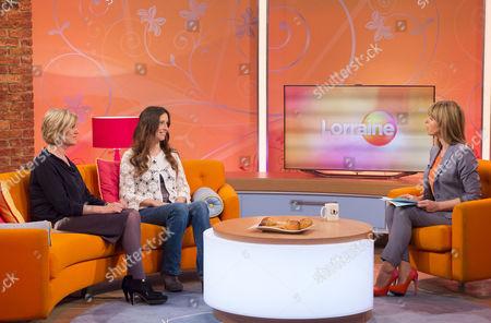 Jacqui Marson and Amanda Rayner with Kate Garraway