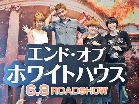 Nana Suzuki, Gerard Butler, Haruna Kondo, Haruka Minowa