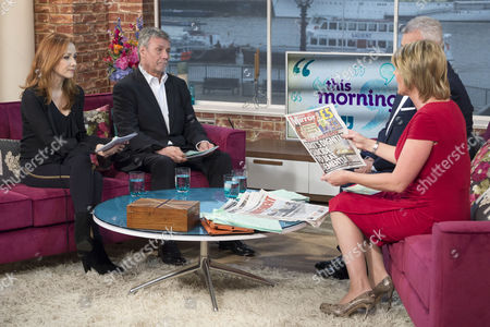 Kim Thomson and Neil Wallis with Eamonn Holmes and Ruth Langsford