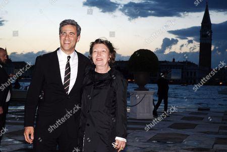Michael Govan and Caroline Bourgeois