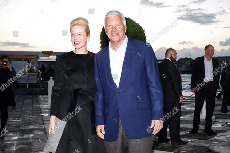Larry Gagosian and guest