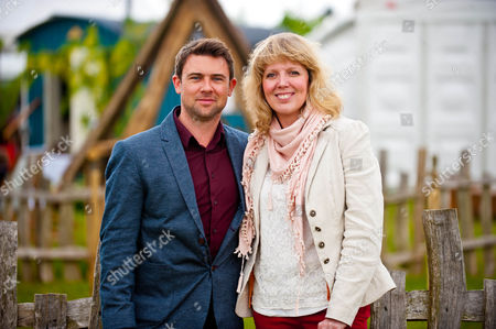 Owen Sheers and Carolyn Hitt