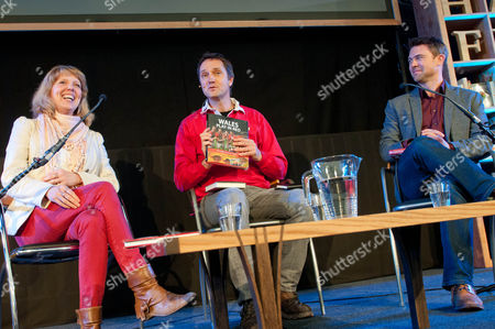 Carolyn Hitt, Jasper Rees and Owen Sheers
