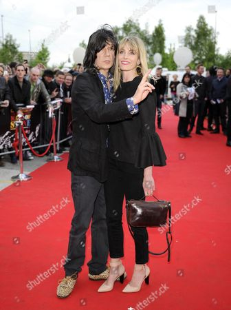 John Squire and wife Sophie