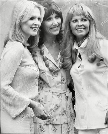 Ladies Of Tv Lunch At The Dorchester Hotel Left To Right Loretta Goggi Anita Harris And Anthea Redfern.