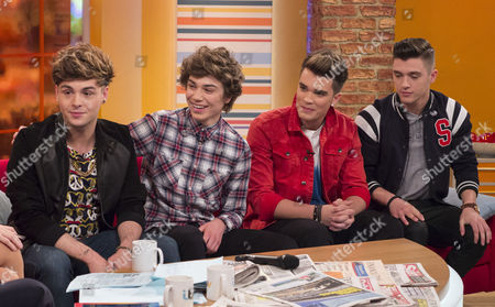 Union J - Jaymi Hensley, George Shelley, Josh Cuthbert and Jamie Hamblett