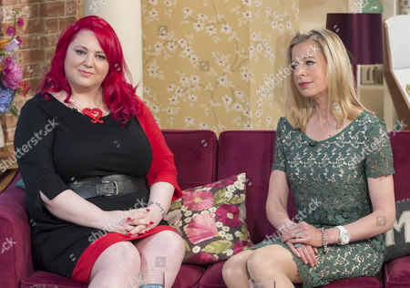 Stock Photo of Rachel Copper-Wherry and Katie Hopkins