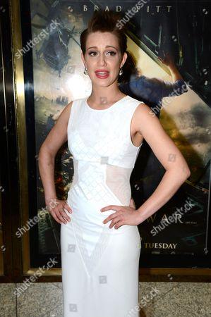 Editorial image of 'World War Z', film world premiere, London, Britain - 02 Jun 2013