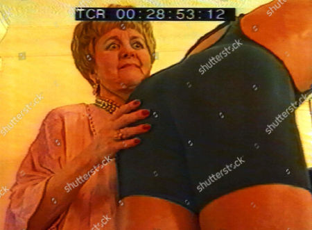 LYNNE PERRIE IN ALTERNATIVE KEEP FIT VIDEO WITH MALE STRIPPER