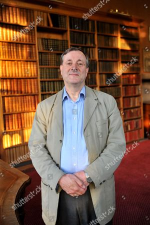 Editorial photo of Alister McGrath speaking at the Oxford Union, Oxford , Britain - 31 May 2013