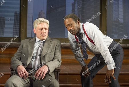 Charles Daish as Charles, Clarke Peters as Henry