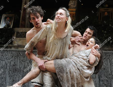 Editorial photo of 'A Midsummer Night's Dream' play performed at the Globe Theatre, London, Britain - 29 May 2013