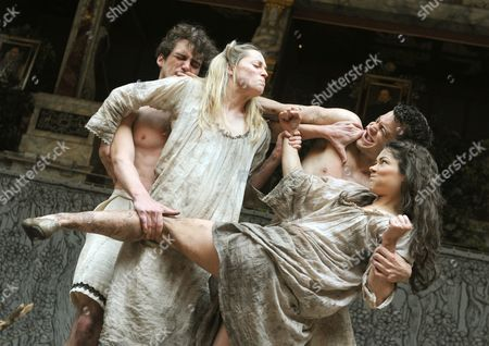 Editorial image of 'A Midsummer Night's Dream' play performed at the Globe Theatre, London, Britain - 29 May 2013