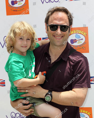 Stock Picture of Jason Sklar and son