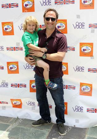 Jason Sklar and son