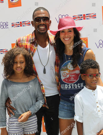 Bill Bellamy, Kristen Bellamy and children