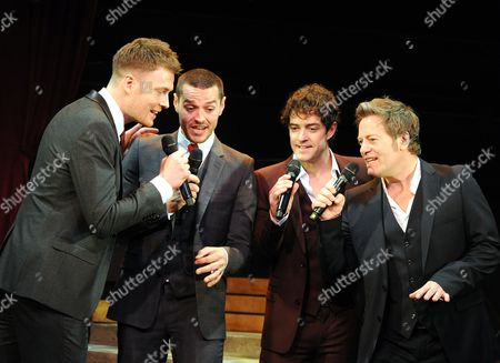 David Thaxton, Matt Willis, Lee Mead, Glenn Carter