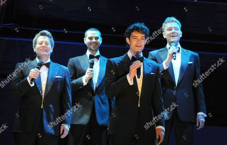 Glenn Carter, Matt Willis, Lee Mead, David Thaxton
