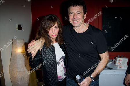 Anne Parillaud and Patrick Bruel