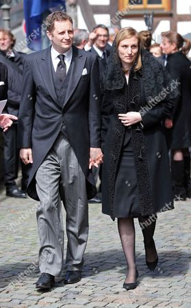 Prince Georg Friedrich of Prussia and Princess Sophie of Isenburg of Prussia