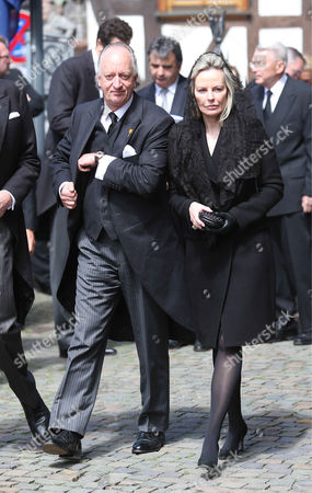 Prince Karl Friedrich of Hohenzollern and wife Princess Katharina Maria (Nina)
