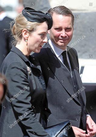 Princess Alexandra of Sayn-Wittgenstein-Berleburg and Count Jefferson Von Pfeil