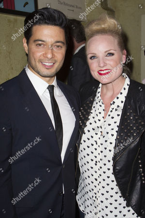 Stephen Rahman-Hughes and Kerry Ellis