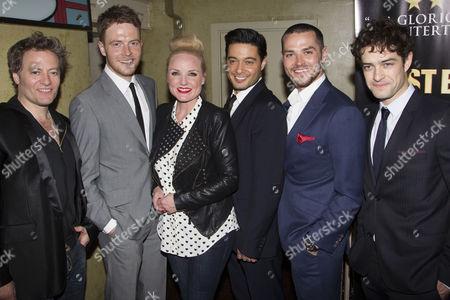 Glenn Carter, David Thaxton, Kerry Ellis, Stephen Rahman-Hughes, Matt Willis and Lee Mead
