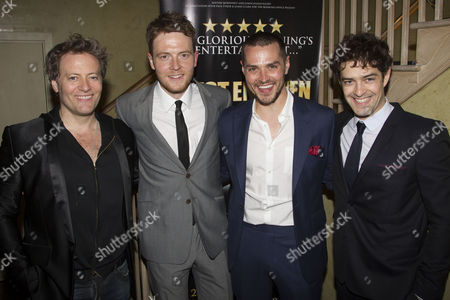 Glenn Carter, David Thaxton, Matt Willis and Lee Mead