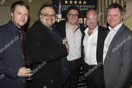 James Milton, Jamie Clark, Paul Morrissey, Jason Haigh Ellery and Paul Tyrer