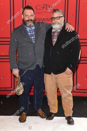 Robert Tagliapietra and Jeffrey Costello