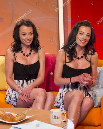 Stock Image of The Cheeky Girls - Monica Irimia and Gabriela Irimia