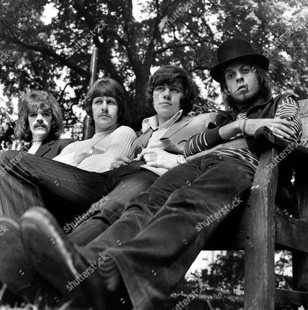The Move - Roy Wood, Carl Wayne, Bev Bevan and Trevor Burton - 1968