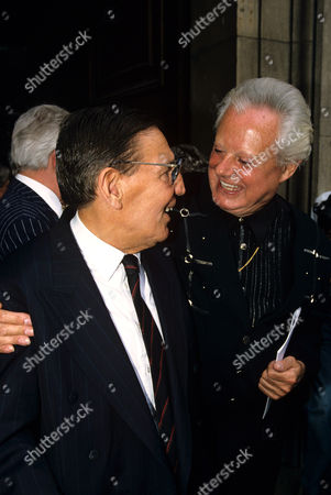 'Mad' Frankie Fraser with Danny La Rue
