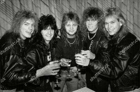 'Europe' -  John Leven, Kee Marcello, Mic Michaeli, Joey Tempest och Ian Haugland