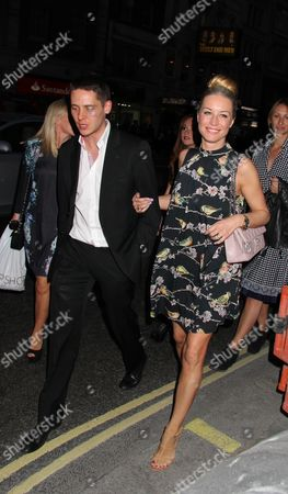 Denise Van Outen and Christopher Parker