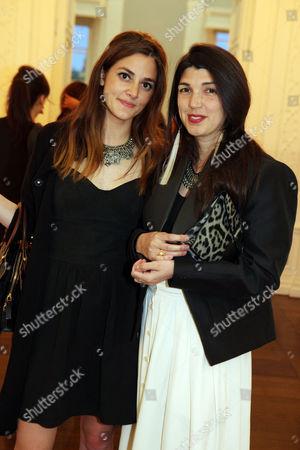 Stock Picture of Alexnadra Chemla and Zeina Durra