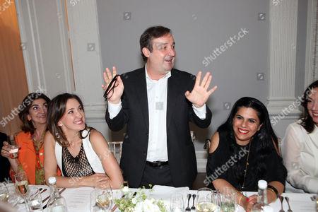 Maria Baibakova and guests