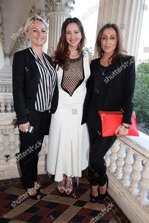 Stock Photo of Yulia Safin, Maria Baibakova, Anna Machkevitch