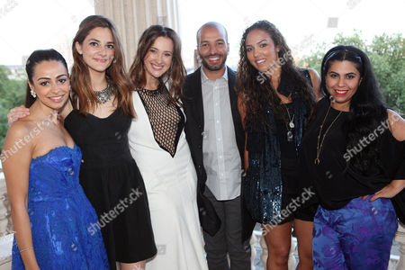 Alaa Al Shroogi, Alexandra Chemla, Maria Baibakova, Abdullah Al Turki, Alia Al Senussi and Manal Al Dowayan